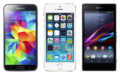 Samsung Galaxy S5 vs Apple iPhone 5s vs Sony Xperia Z1