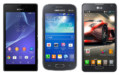 Sony Xperia M2 vs Samsung Galaxy Ace 3 vs LG Optimus F6