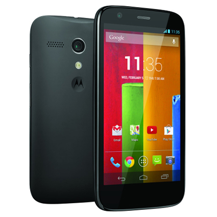 How to Insert SIM cards into Motorola Moto G - YouTube