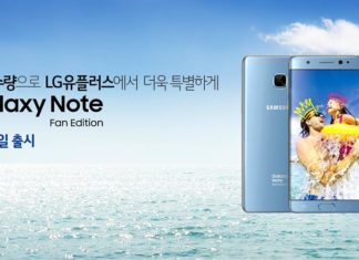 Samsung Galaxy Note Fan Edition Ad Poster are up in South Korea