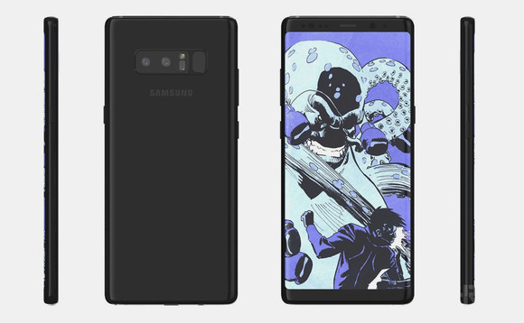 Note 8 FCC certification