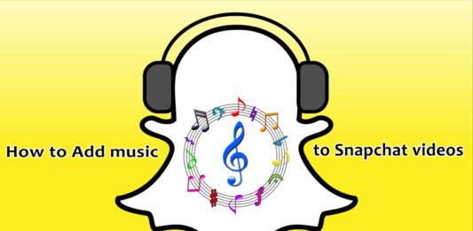 How to add music to Snapchat videos step by step
