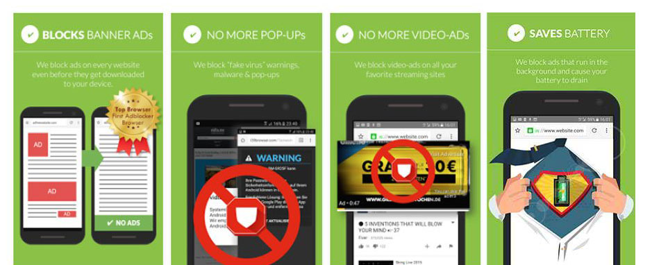 The best ad blockers for your Android that will Make Your Device Ads