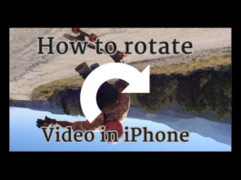 how to rotate a video