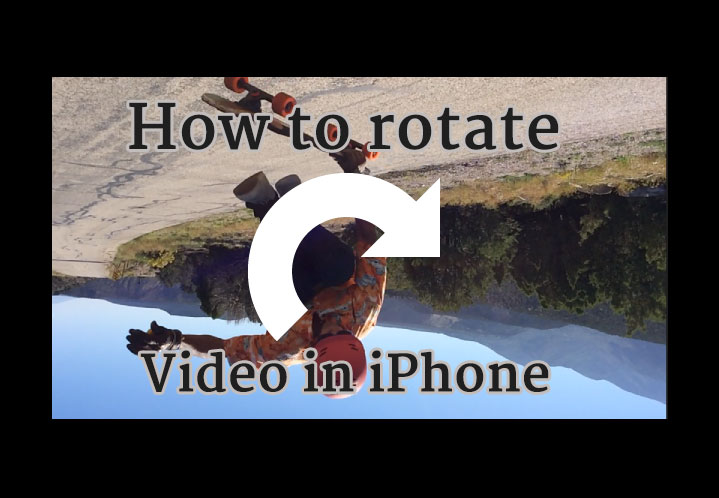 How to rotate a video on iphone and ipad gsmorigin how to rotate a video ccuart Images