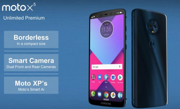 Moto X5 images reveals four cameras, bezel-less, rounded corner and 'notch' in the style of iPhone X
