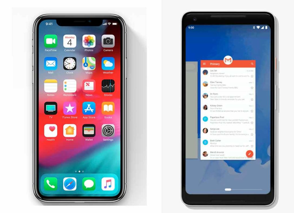 iOS 12 vs Android P: similarities and differences between